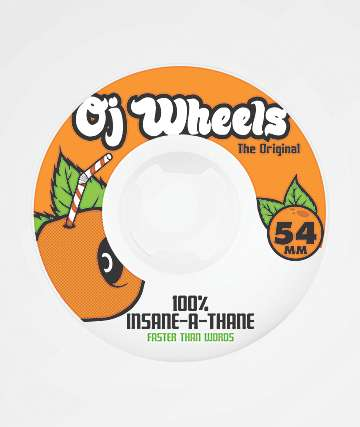 OJ Juicebox Insaneathane 54mm 101a Wheels