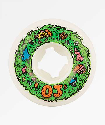 OJ Scum Insanethane 53mm 101a Skateboard Wheels