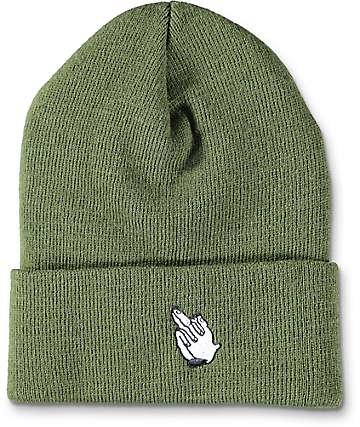 OLV PRAYING FINGER BEANIE