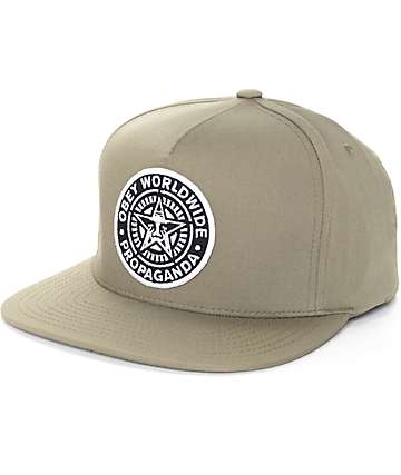 Obey Classic Patch Olive Snapback Hat