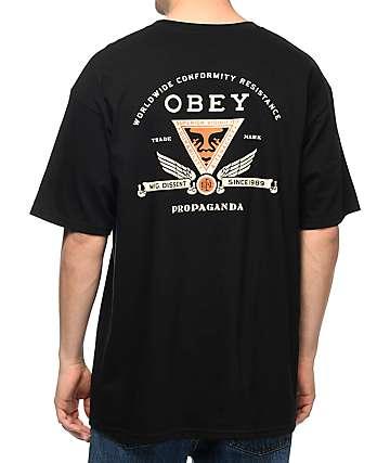 Obey Conformity Resistance Black T-Shirt