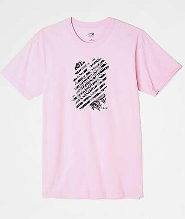 Obey Defiant Rose Pink T-Shirt