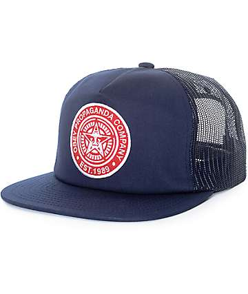 Obey Established 89 Blue Tucker Hat