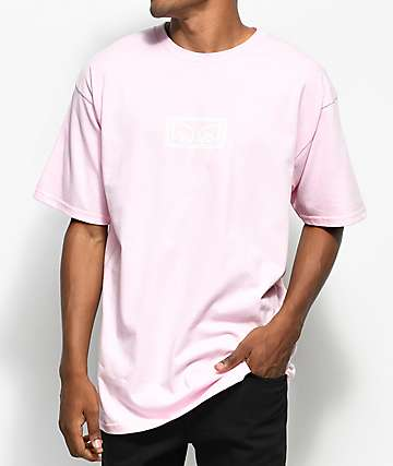 Obey Eyes Pink T-Shirt
