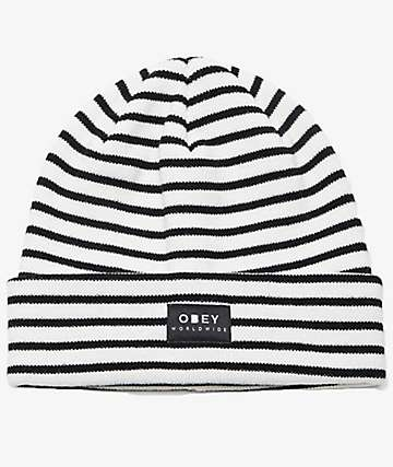 Obey Franklin Marshmallow Beanie