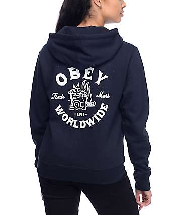 Obey Fresh Off The Press Black Hoodie