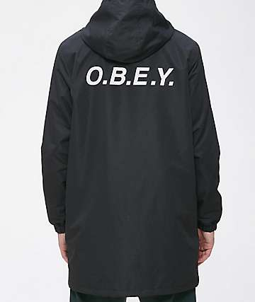 Obey Hester Black Jacket