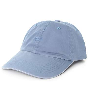 Obey Lemont Blue 6 Panel Hat