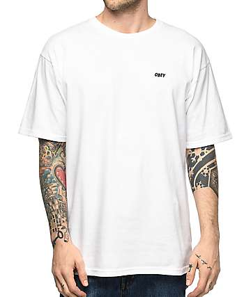 Obey Lo-Fi White T-Shirt