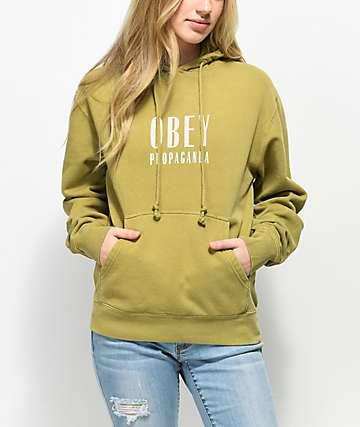 Obey Main Street Dusty Avocado Hoodie