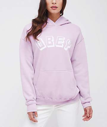 Obey New World Orchid Hoodie