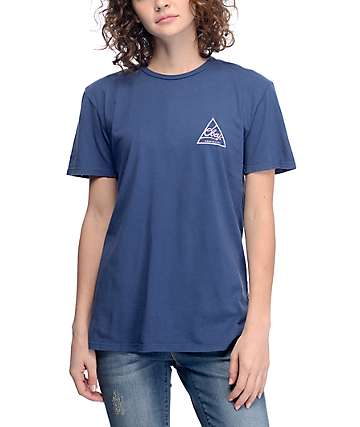 Obey Next Round Blue T-Shirt