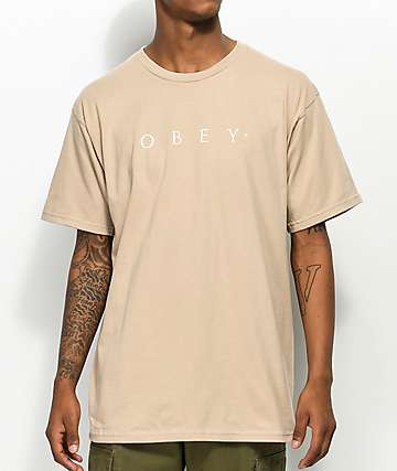 Obey Novel Sand T-Shirt
