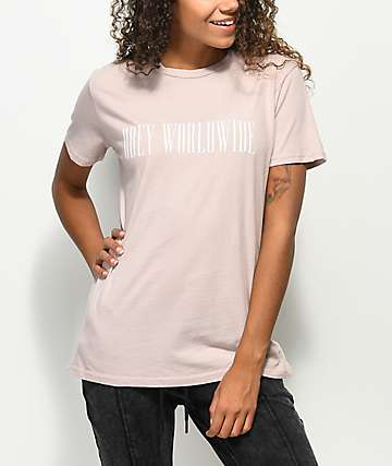 Obey Proof Type Classic Beige T-Shirt