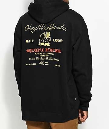 Obey Special Reserve Black Hoodie