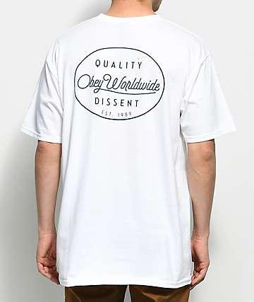Obey Specimen White T-Shirt