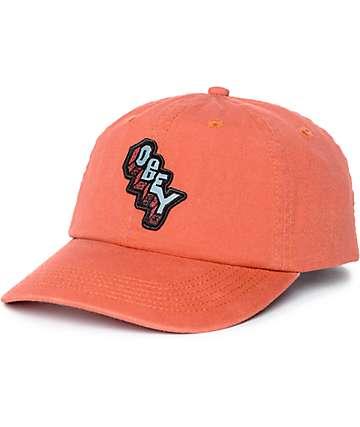 Obey Starlight Apricot Baseball Hat