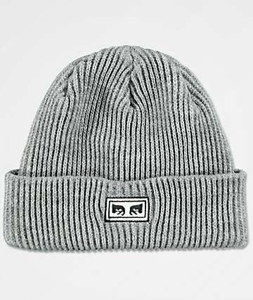 Obey Subversion Heather Grey Beanie