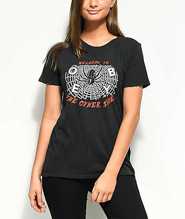 Obey Welcome To The Other Side Black T-Shirt