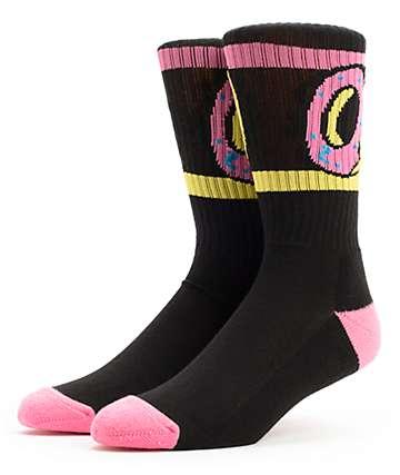 Odd Future Donut Black Crew Socks