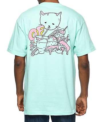 Odd Future Overindulged Aqua T-Shirt