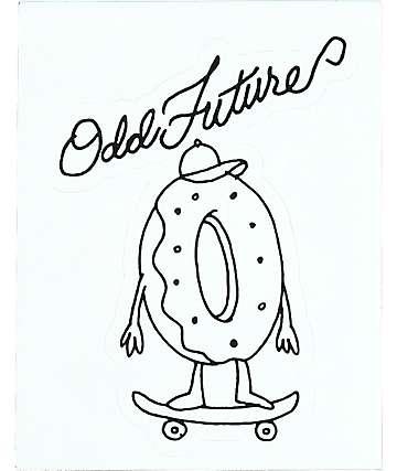 Odd Future Skating Sticker