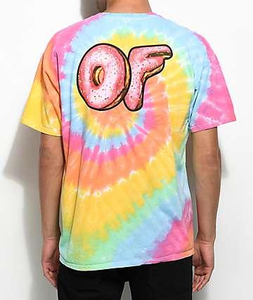 Odd Future Sprinkle Logo Tie Dye T-Shirt