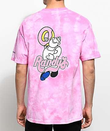 Odd Future x Randy's Donuts Donut Man Pink T-Shirt