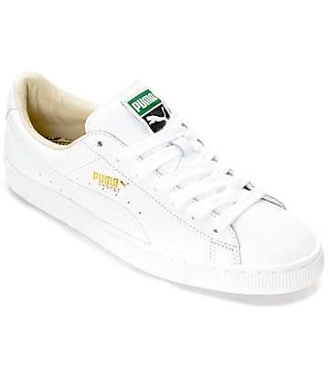 PUMA Basket Classic White Shoes
