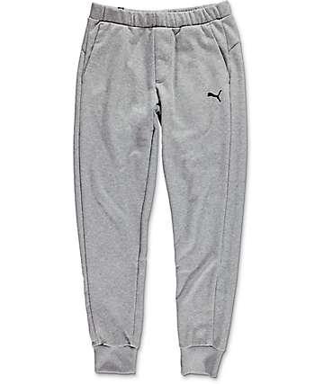 PUMA ESS Grey Slim Sweatpants