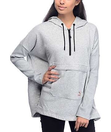 PUMA Evo Grey Hooded Cape