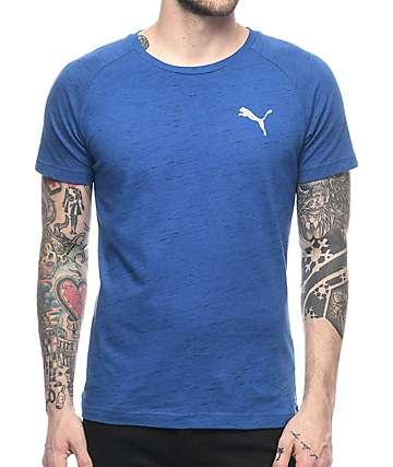 PUMA Evostripe Spaceknit Blue T-Shirt