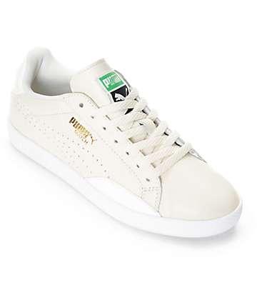 PUMA Match Lo White Shoes (Womens)