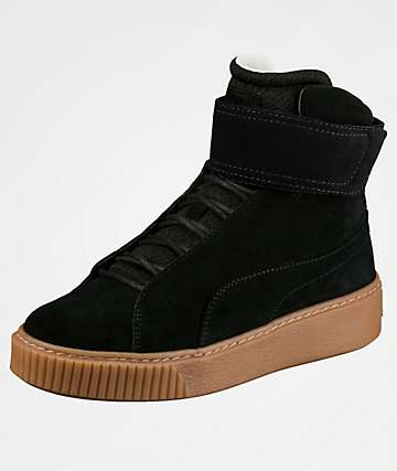 PUMA Platform Mid OW Black Shoes