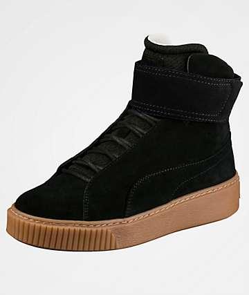 PUMA Platform Mid OW Black Shoes