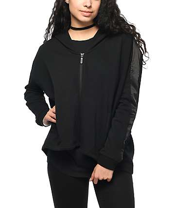 PUMA Satin T7 Black Track Jacket