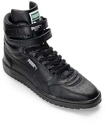 PUMA Sky II Hi Black Shoes