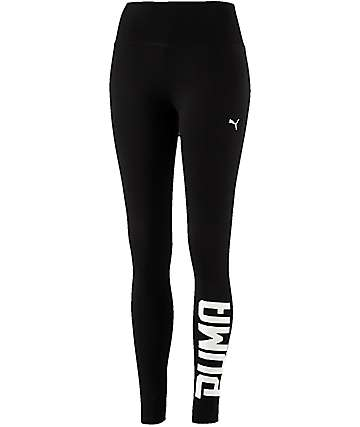 PUMA Style Swagger Black Leggings