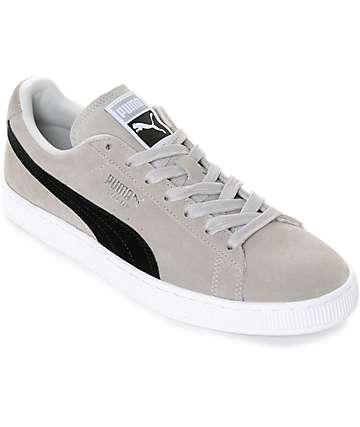 PUMA Suede Classic + Grey & Black Shoes