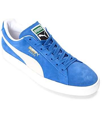 PUMA Suede Classic + Olympian Blue Shoes