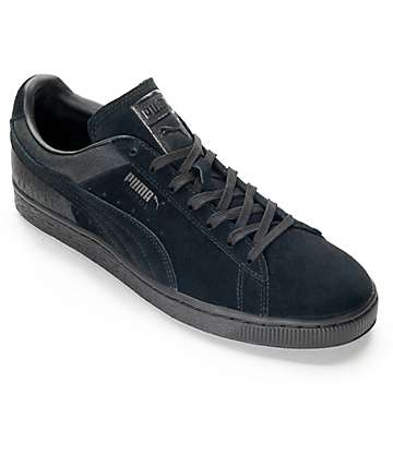 PUMA Suede Classic Casual Emboss Black Shoes