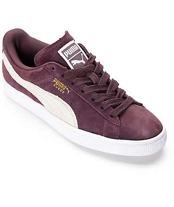 PUMA Suede Classic Winetasting Shoes (Womens)