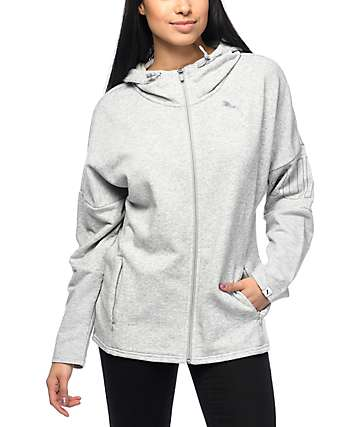 PUMA Swagger Grey Zip Up Hoodie