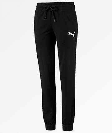 PUMA Urban Sports Black Sweatpants