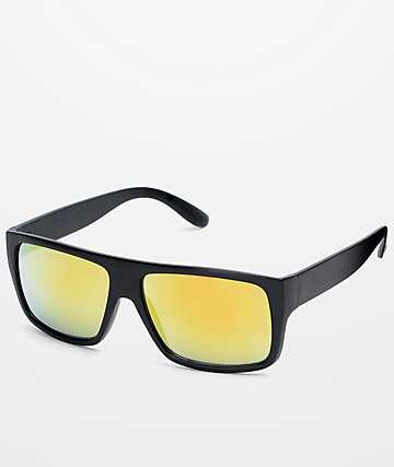 Parole Black & Gold Sunglasses