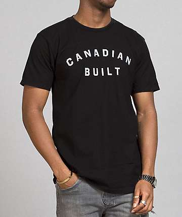 Peace Collective Canadian Built Black T-Shirt