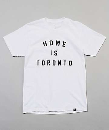 Peace Collective Home Is Toronto White T-Shirt