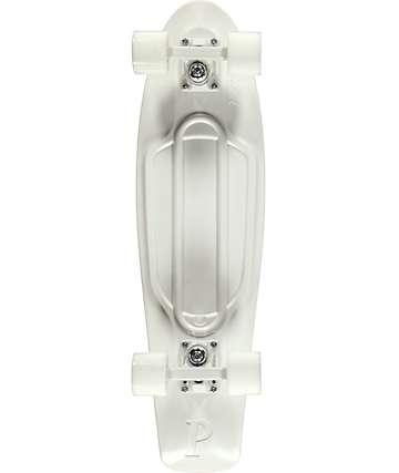"""Penny Nickel White Lightning 27"""" Cruiser Complete Skateboard"""