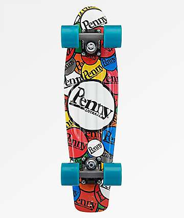 "Penny Sticker Slap 22"" Cruiser Complete Skateboard"
