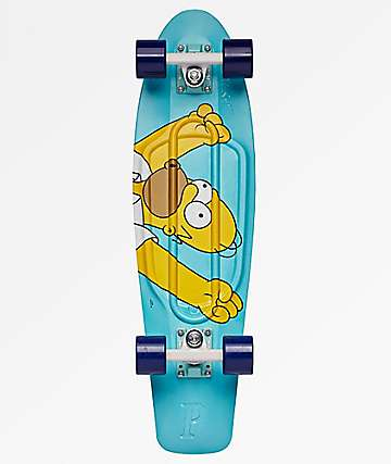"Penny x The Simpsons Homer 27"" Cruiser Complete Skateboard"